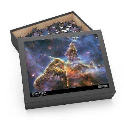 Mystic Mountain Puzzle Box